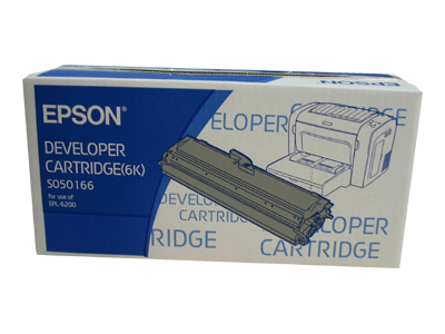 EPSON EPL6200 S050166 DEVELOPER NERO .