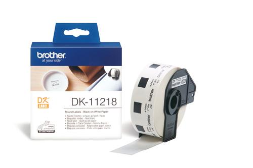 BROTHER DK-11218 ETICHETTE ADESIVE 1kP #