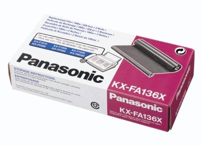 PANASONIC KX-FA136X PELLICOLA 2X100M --