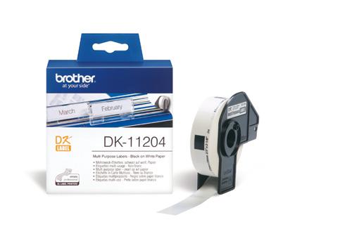 BROTHER DK-11204 ETICHETTE ADSV 400PZ