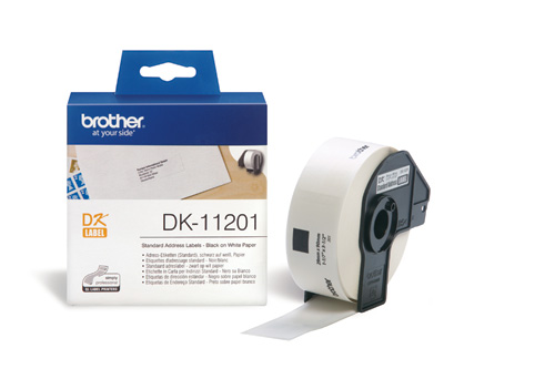 BROTHER DK-11201 ETICHETTE ADESIVE 400