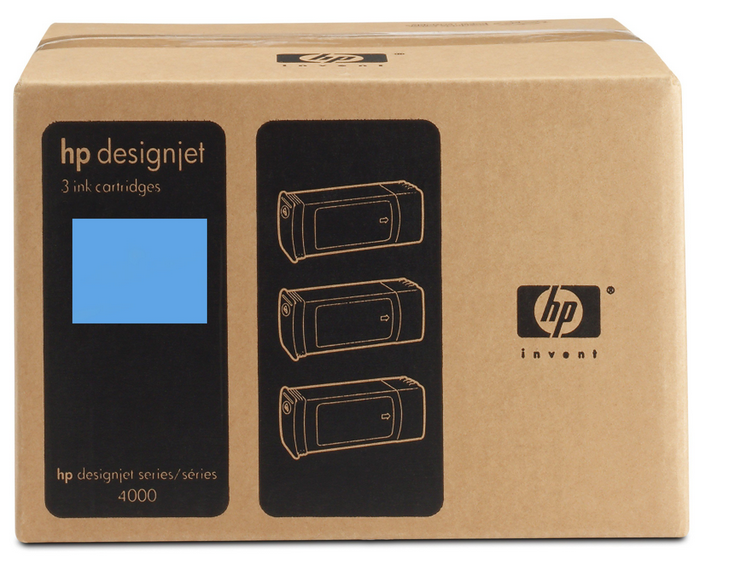 HP C5083A N90 INK JET CIANO 3PZ [] _