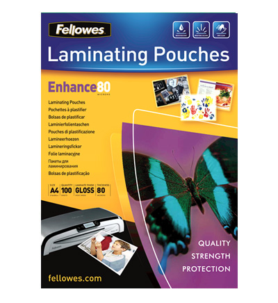 Fellowes Pouches Enhance 80 A4