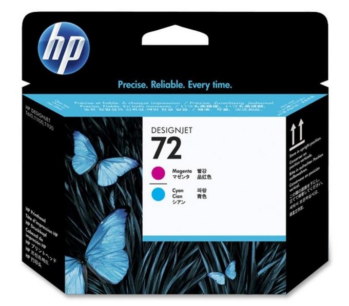 HP C9383A N72 TESTINA MAGENTA/CIANO []