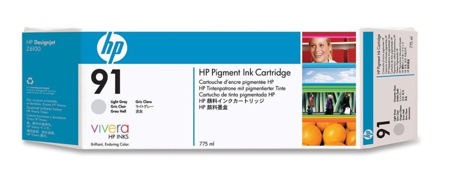 HP C9466A N91 INK JET GRIGIO CHIARO