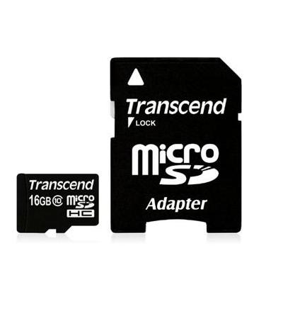TRANSCEND MICRO SD 16GB 2 IN 1 HC10