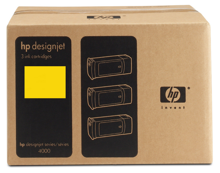 HP C5085A N90 INK JET GIALLO 3PZ [] _
