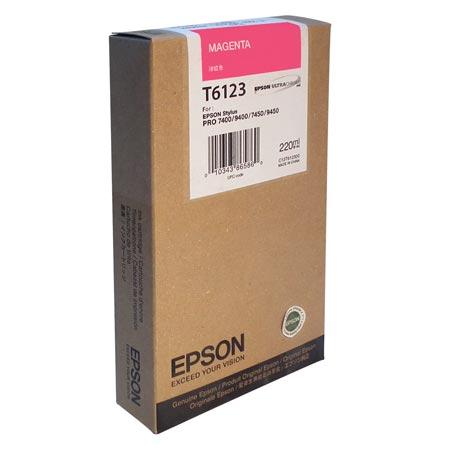 Epson Sp7400 T612300 Ink Jet Magenta (n)