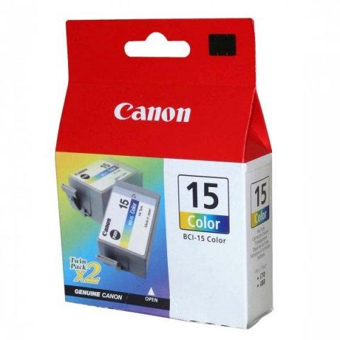 CANON BCI-15 CL INK JET COLORE 2PZ (X)