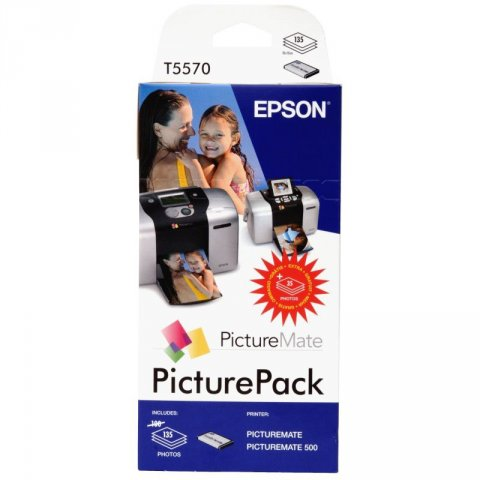 EPSON T557040BH INK + CARTA PICTURE PACK