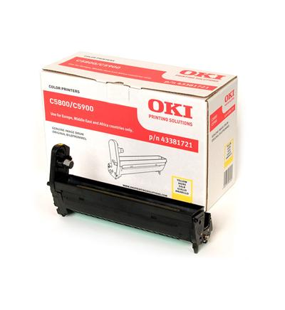 OKI C5800/5900 DRUM GIALLO