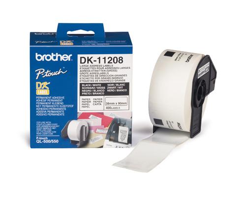 BROTHER DK-11208 ETICHETTE ADSV 400PZ
