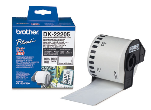 Brother Dk-22205 Dk Etichette Adesive