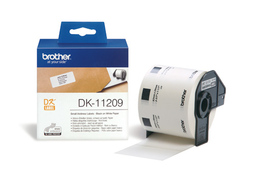 BROTHER DK-11209 ETICHETTE ADSV 800PZ