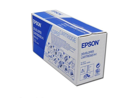 EPSON EPL6200 S050167 DEVELOPER NERO .