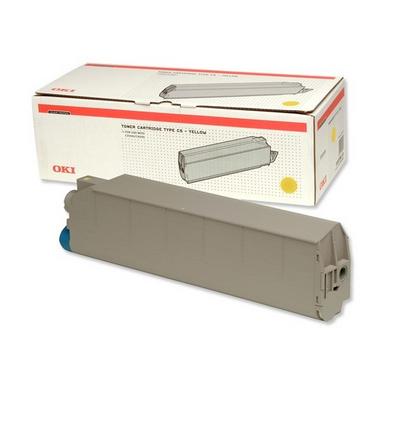 Oki C9300/9500 Toner Giallo 15k # *