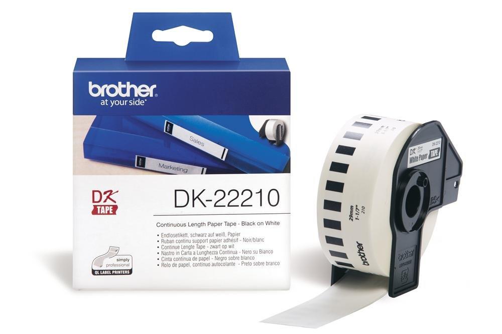 BROTHER DK-22210 DK ETICHETTE ADESIVE