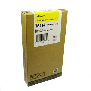 Epson Sp7400 T611400 Ink Jet Giallo (n)