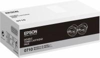 Epson Alm200dn S050710 Toner Nero 2pz