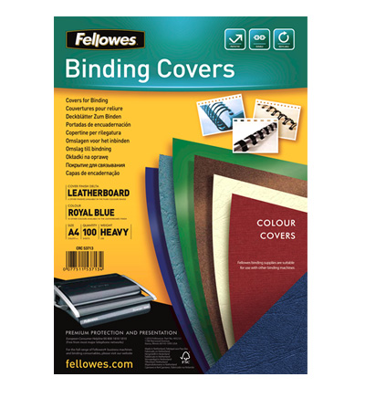 Fellowes Copertine Delta FSC - Royal Blu