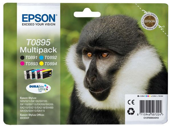 EPSON SS20 T08954010 MULTIPACK